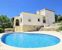 4 bedroom villa in Benimeit Moraira