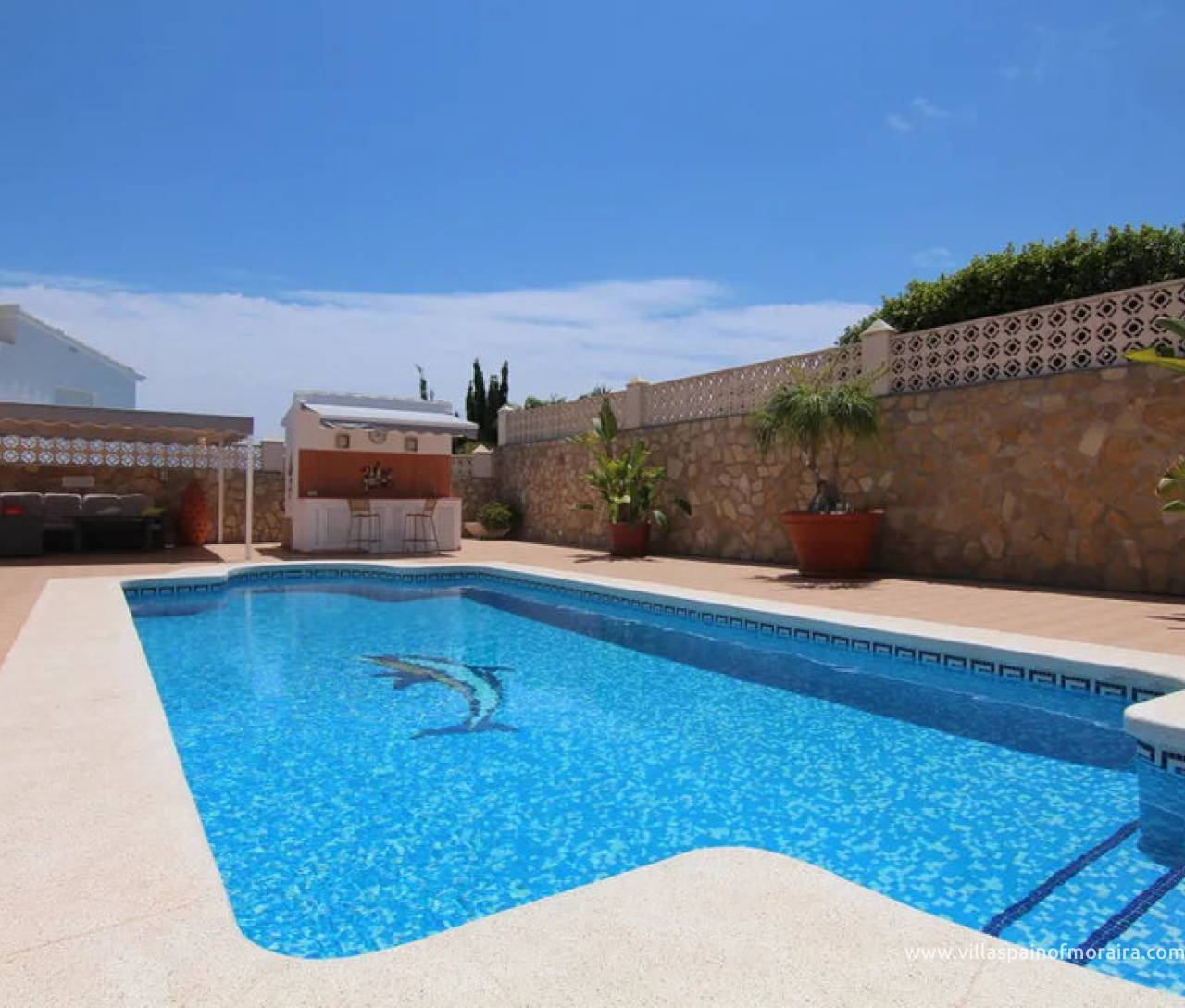 6 bedroom villa in Moravit Moraira