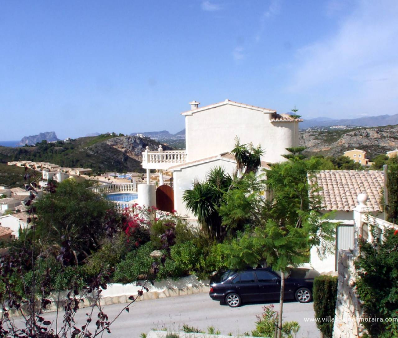 Cumbre del sol sea view villa