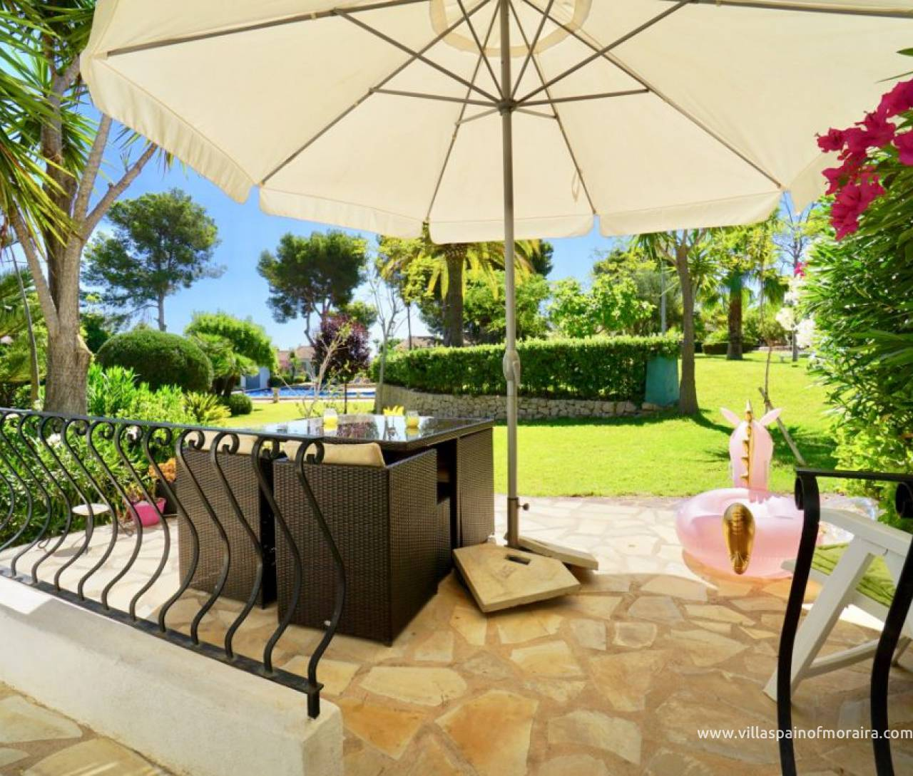 Moraira townhouse for sale Fanadix area
