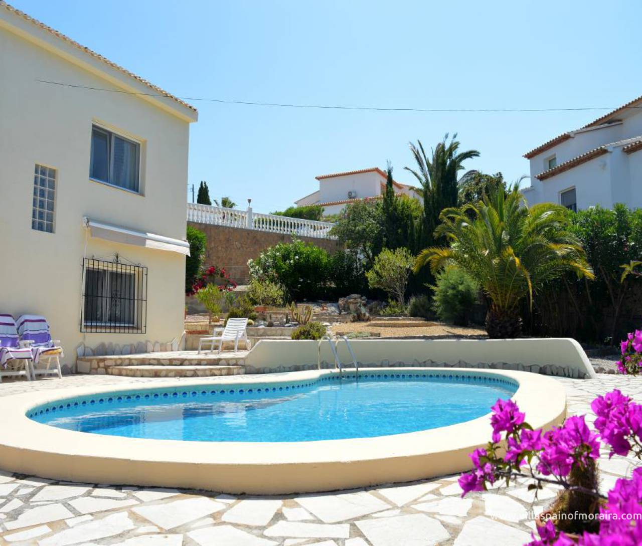 Moraira villa for sale