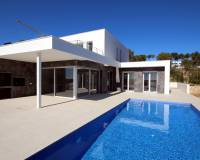 New build villa in Moraira
