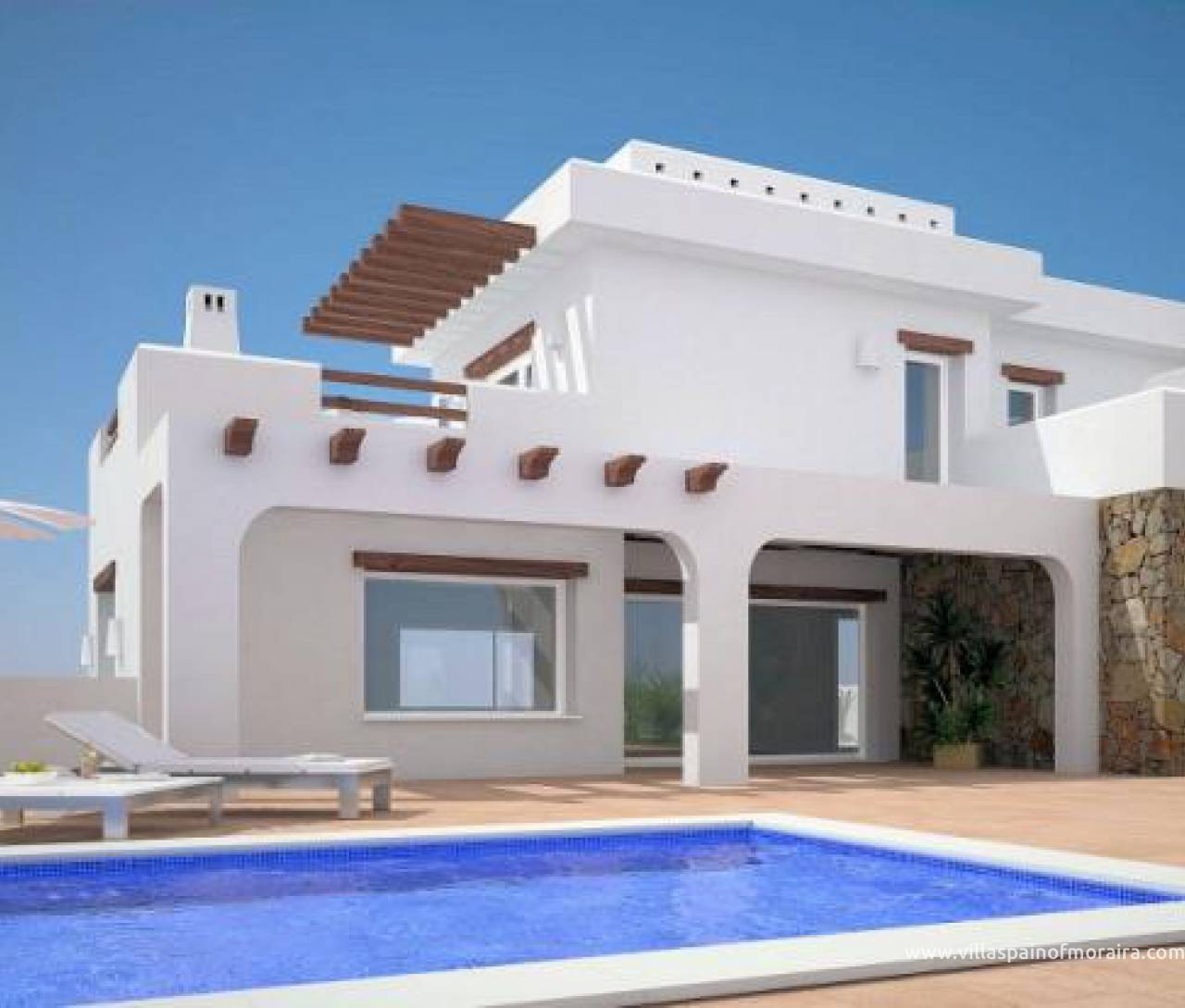 New build villa model costa Blanca