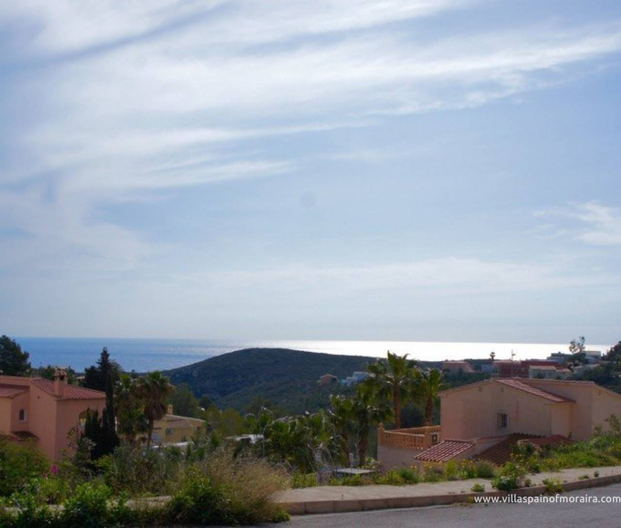 Sea view plot for sale Cumbre del sol