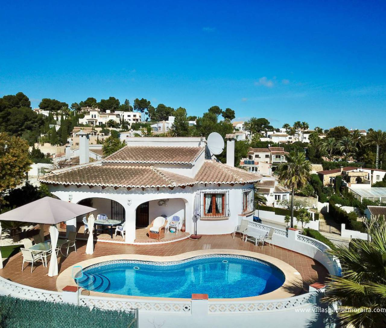 Tabaira villa for sale Moraira