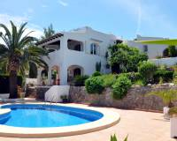 villa for sale in Benimeit Moraira