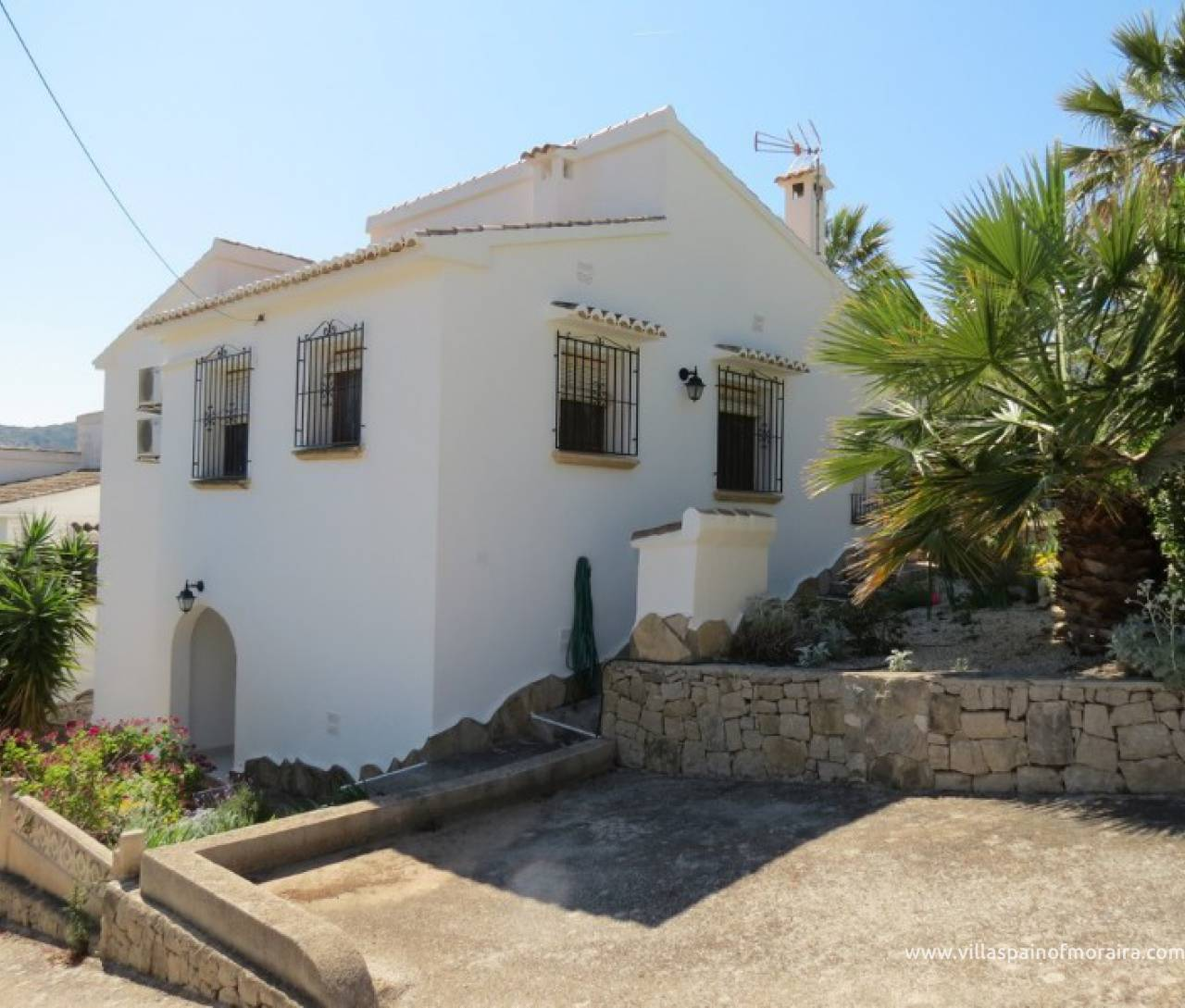 Villa for sale in El Portet Moraira