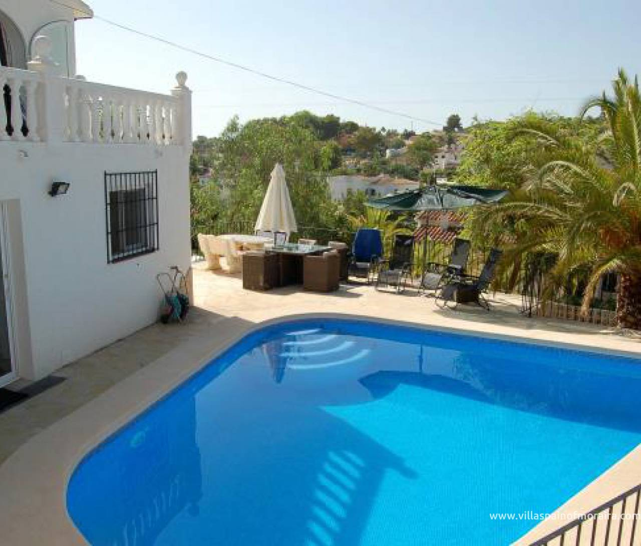 Villa for sale in La Fustera on Benissa Costa
