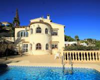 Villa for sale in Montemar Benissa