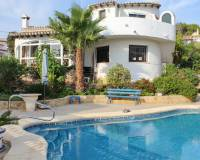 Villa for sale in Moravit Moraira with sea view