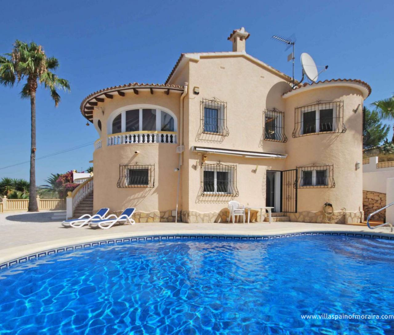 villa for sale Villotel Moraira