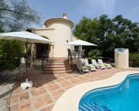villa walking distance to Moraira town